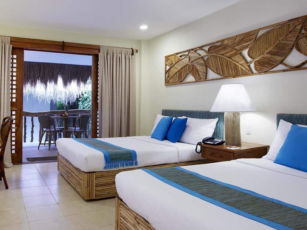 ブルーウォーターマリバゴ、セブ島の高級なホテル
