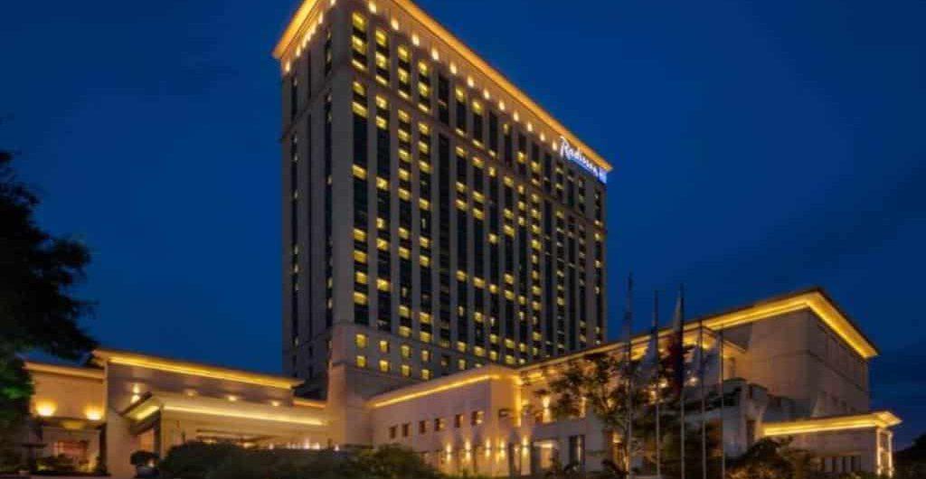 ラディソンブル、セブ島で最も高級なリゾートホテル