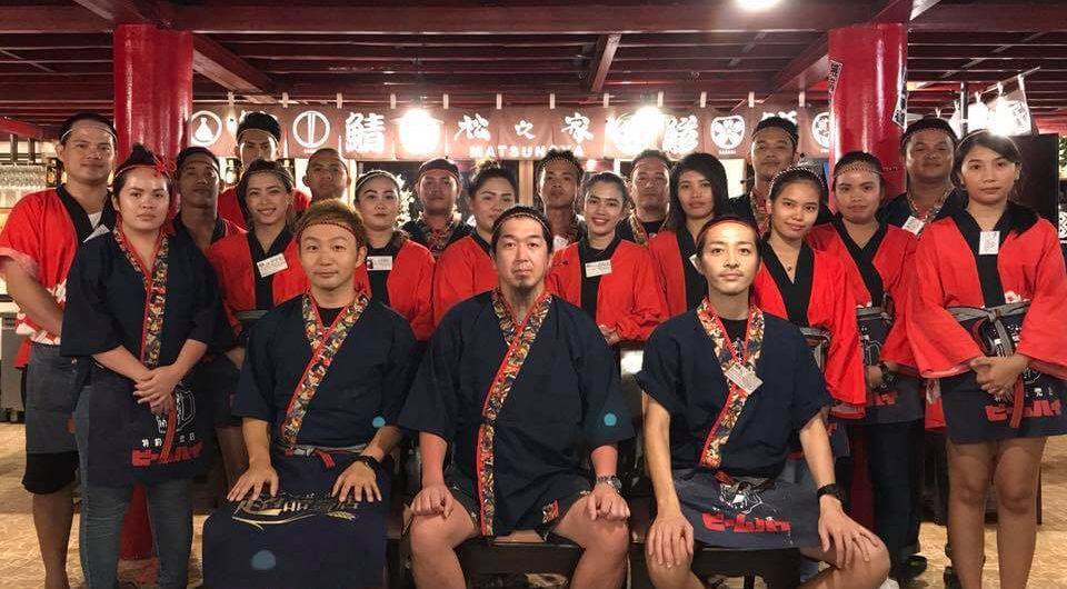 セブ島の日本食 松乃家