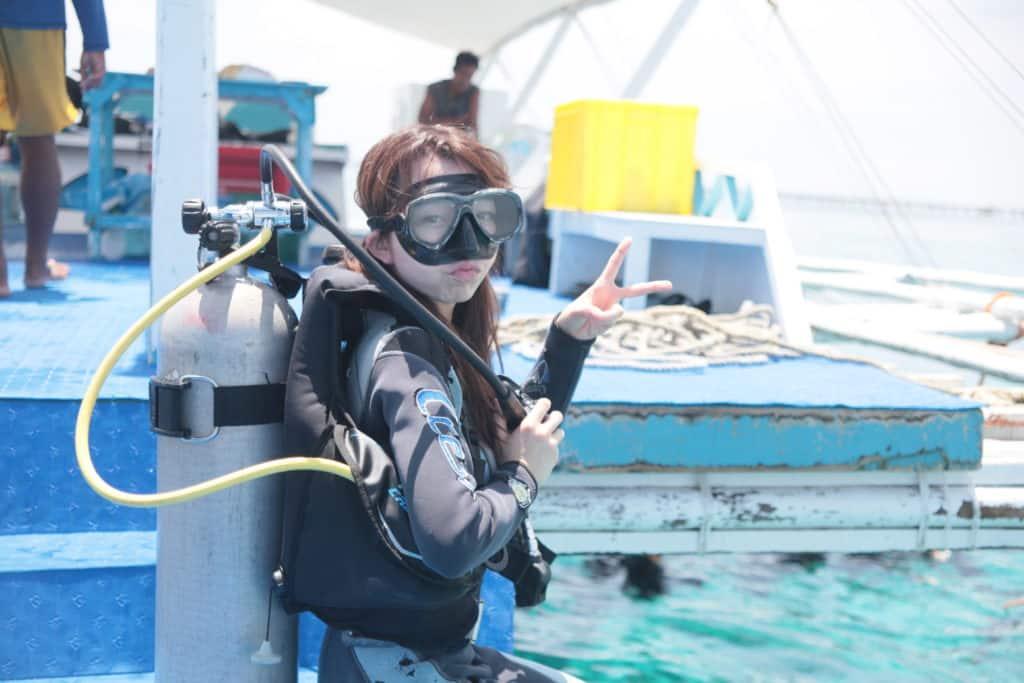 体験ダイビング、パンダノン島、アイランドホッピング