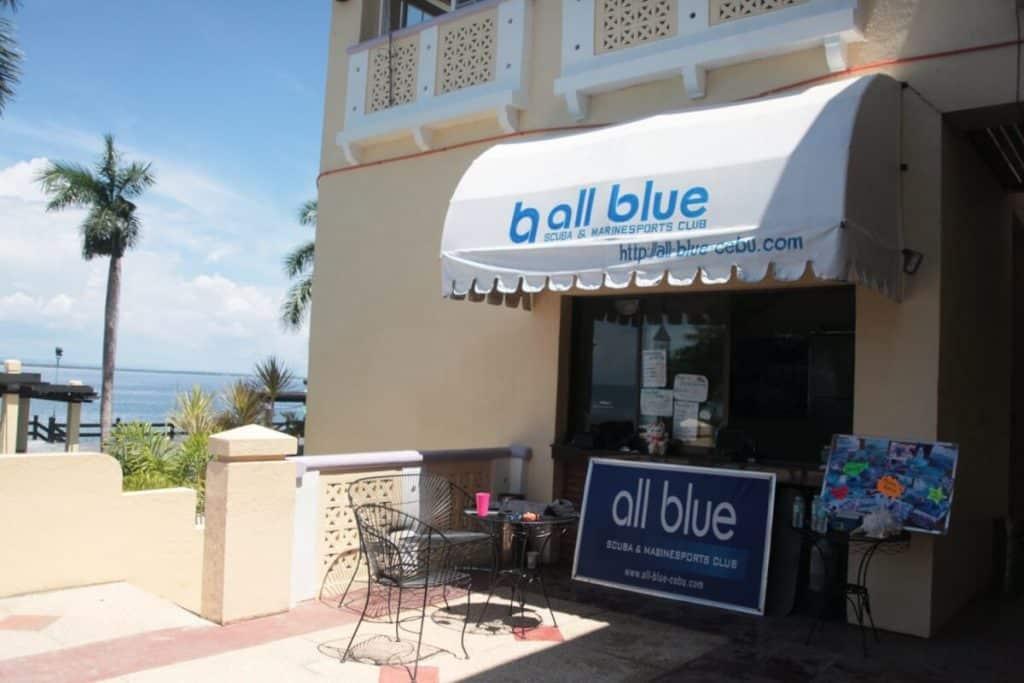 セブ島にあるマリン&スキューバショップオールブルー