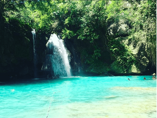カワサンの滝、セブ島の観光ジンベイザメツアー