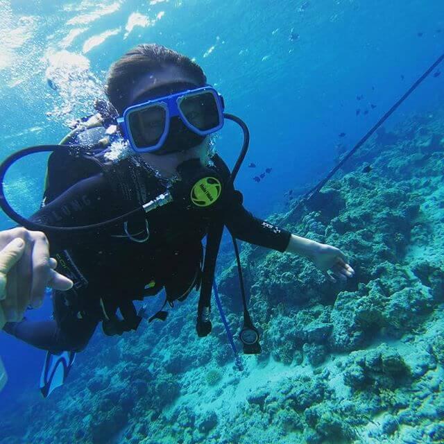 セブ島観光ならダイビングがおすすめ
