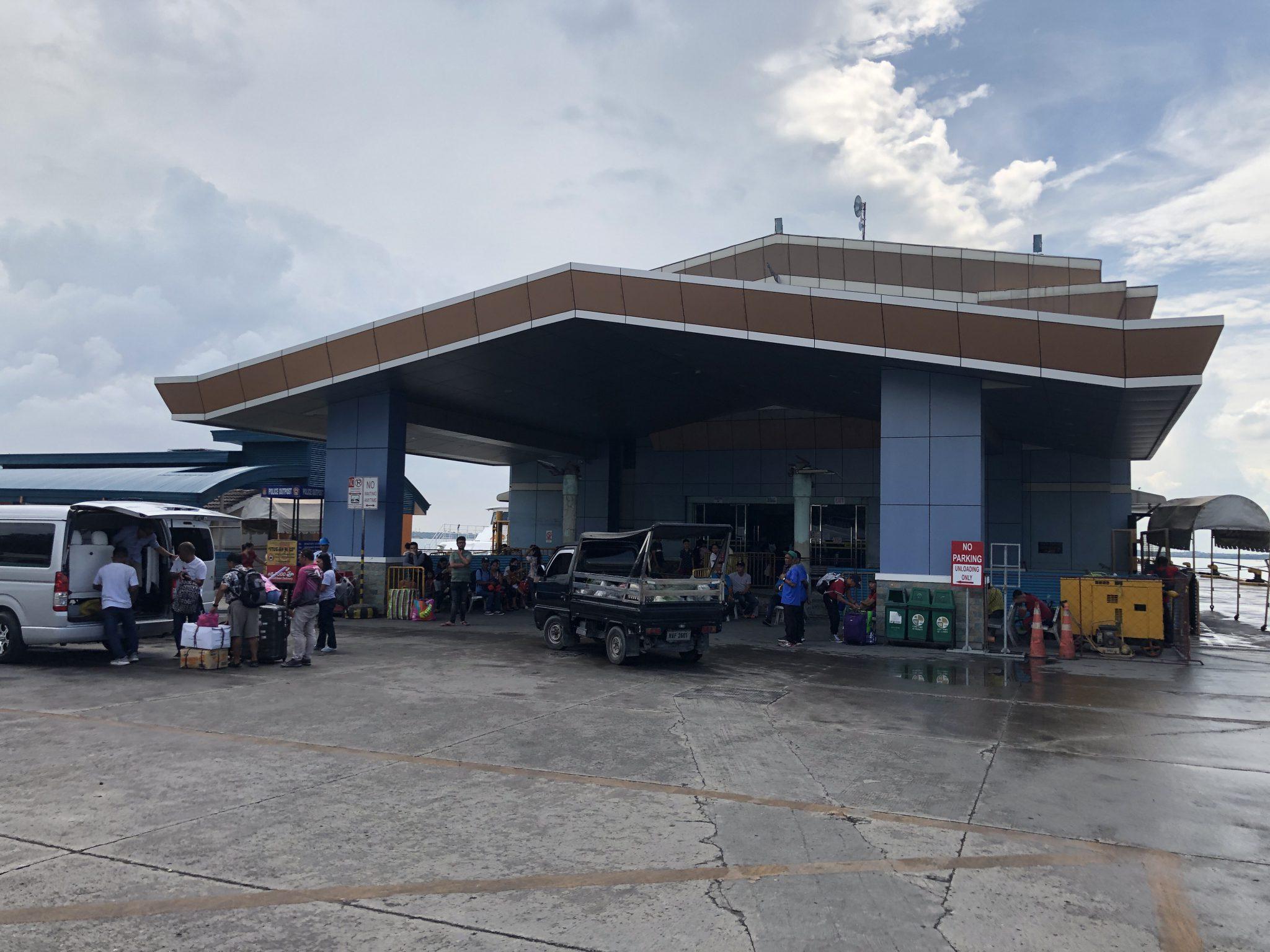 ボホール島,ocean jet ターミナル